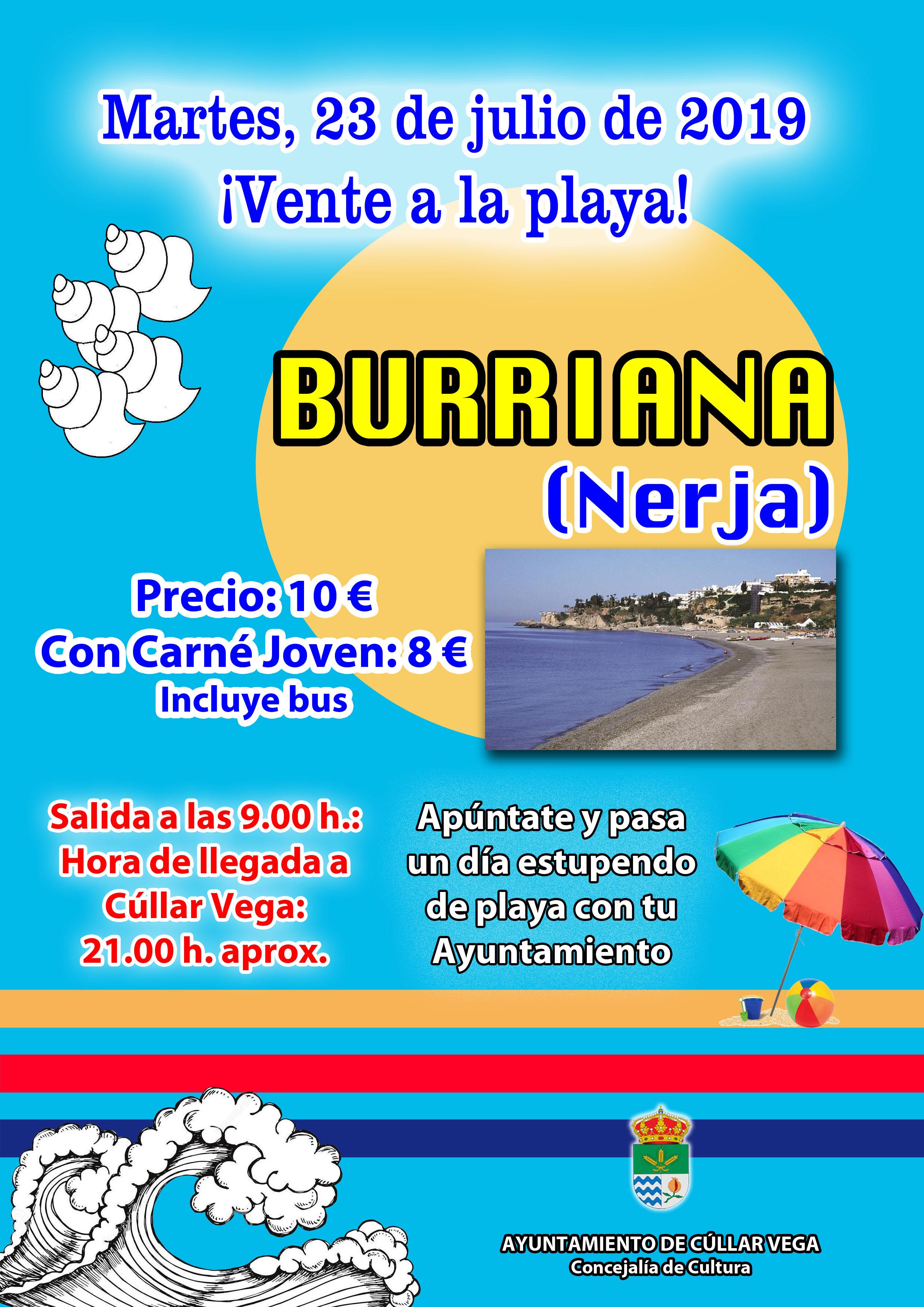 ¡Vente a la playa! Playa de Burriana