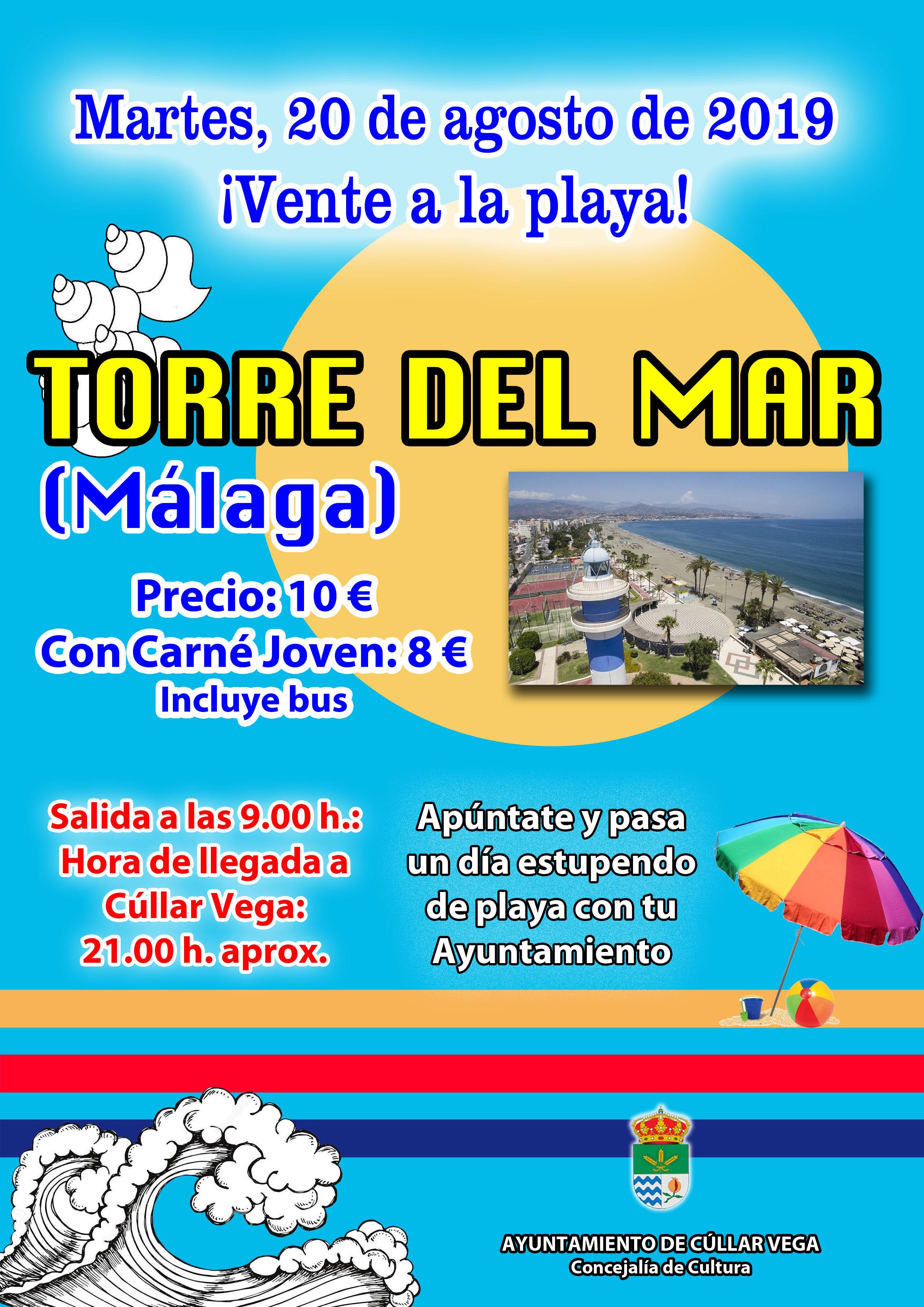 ¡Vente a la playa! Playa de Torre del Mar