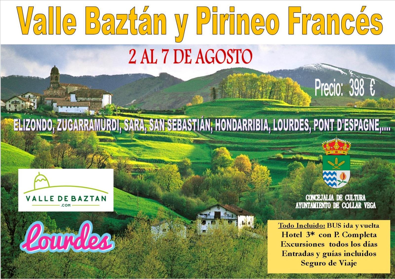 Viaje al Valle Baztán y Pirineo Fránces