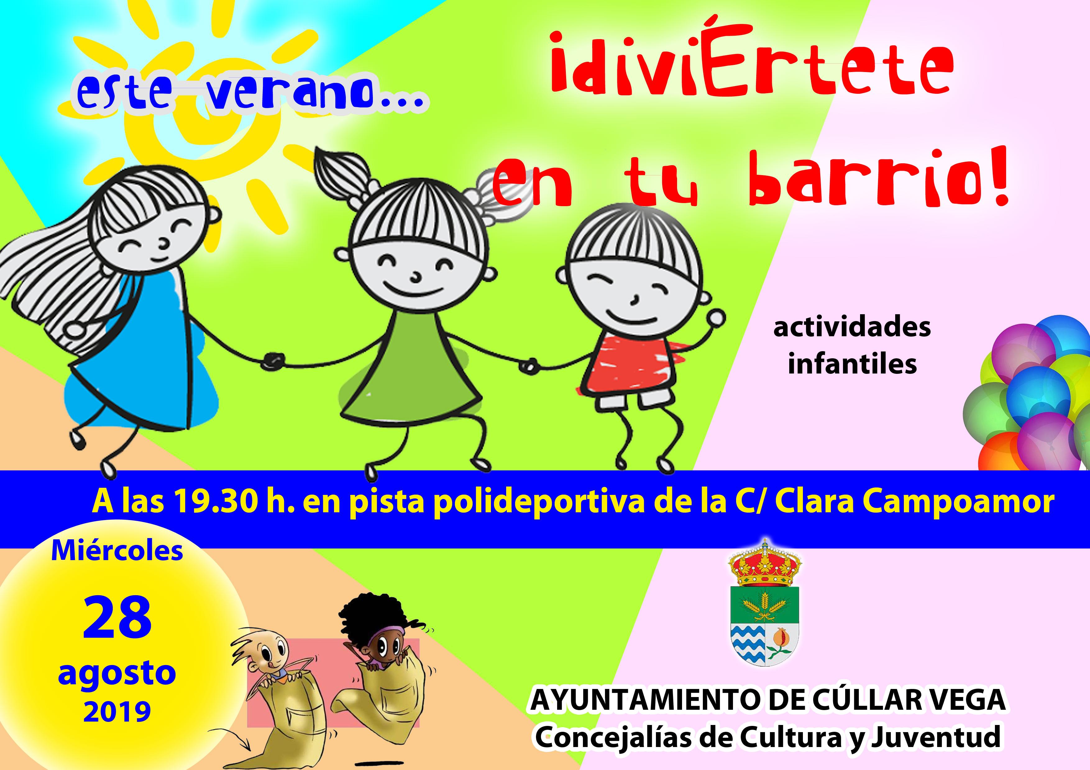 ¡Diviértete en tu barrio! Calle Clara Campoamor (Los 40)