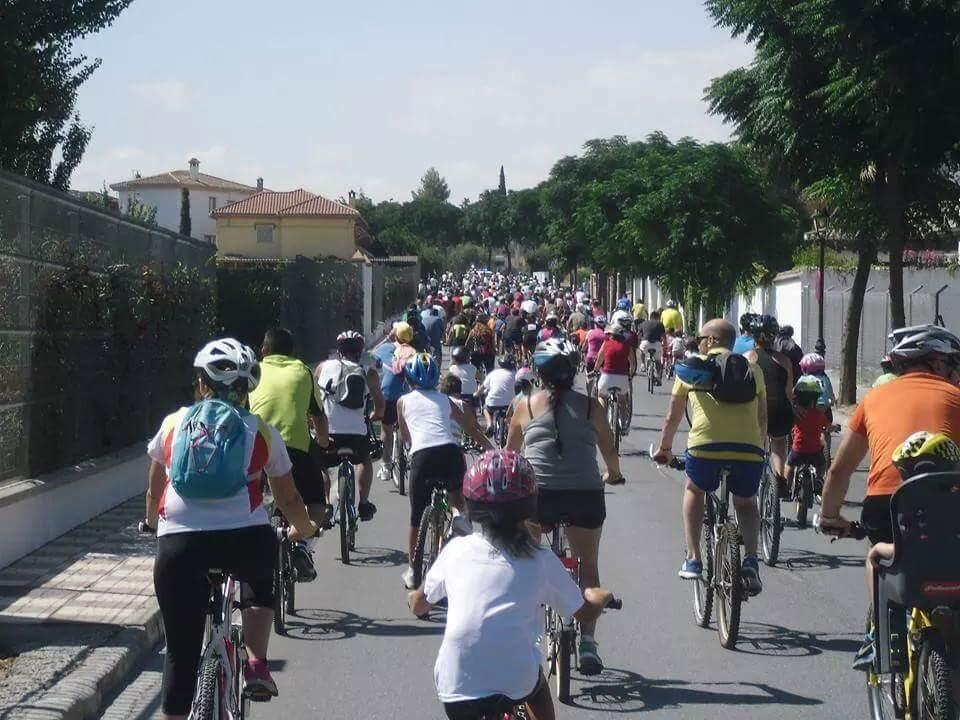 El Día de la Bicicleta  de Cúllar Vega cumple 27 años