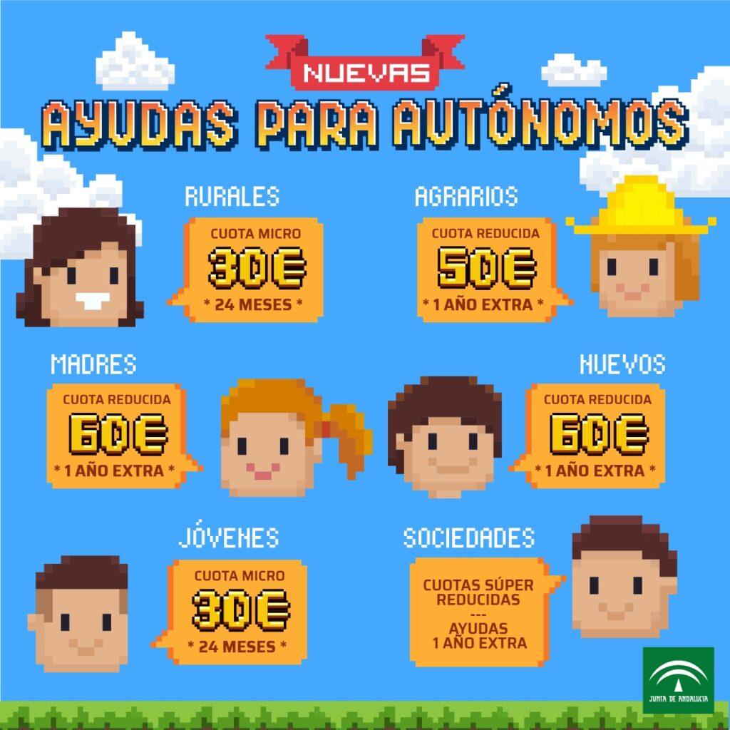 Jornada Nuevos Incentivos a las personas autónomas en Andalucía