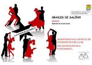 Bailes de Salón en el Centro de Día