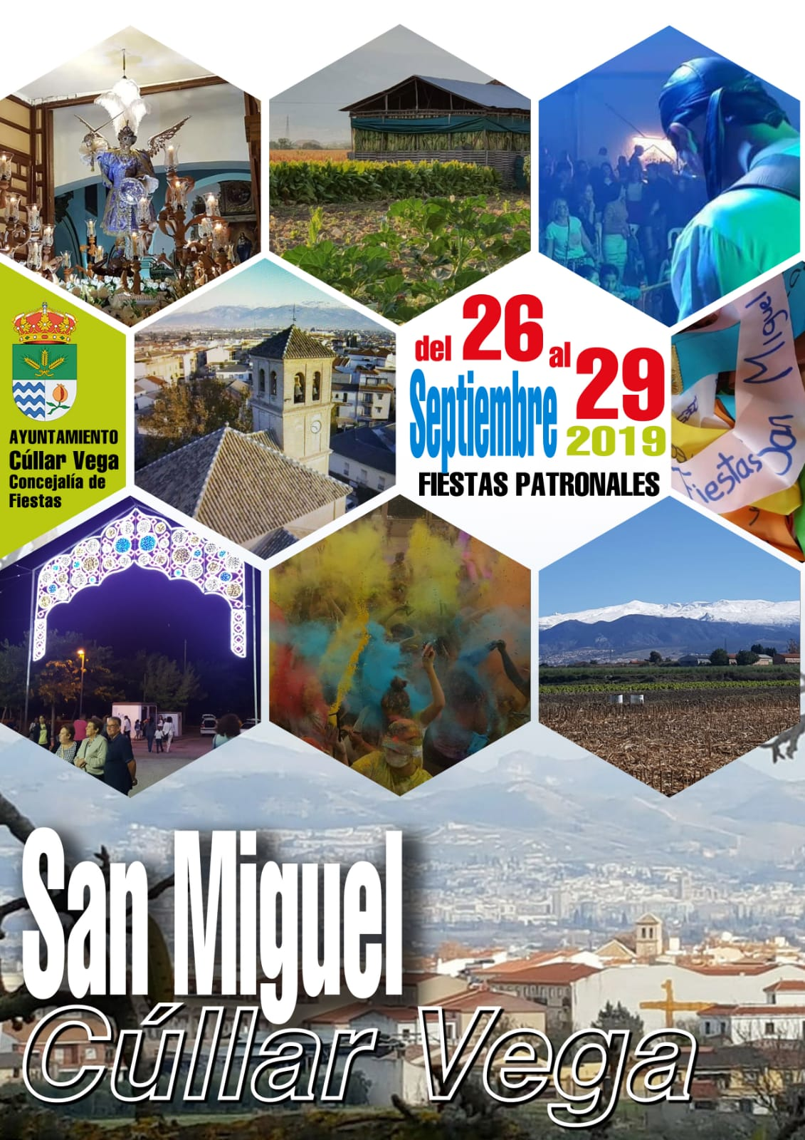 Programación Fiestas de San Miguel 2019