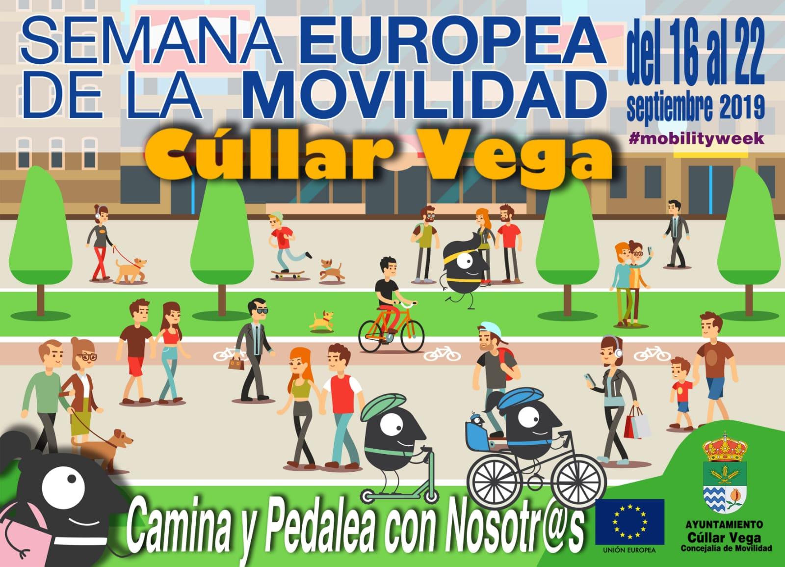 Semana Europea de la Movilidad 2019 en Cúllar Vega