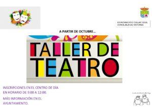Taller de Teatro en el Centro de Día