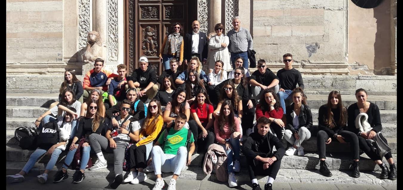 Alumnos del IES Arabuleila de Cúllar Vega participan en un intercambio con un instituto italiano