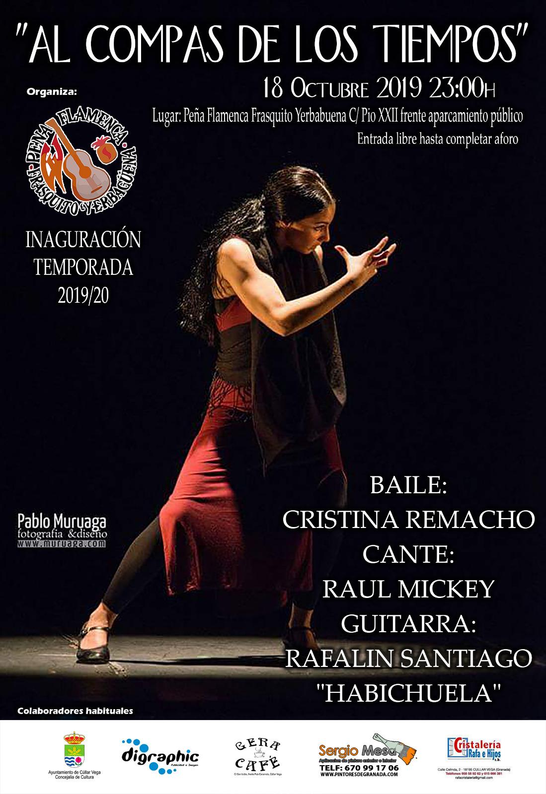 Inauguración de la temporada 2019-2020 en la Peña Flamenca Frasquito Yerbabuena