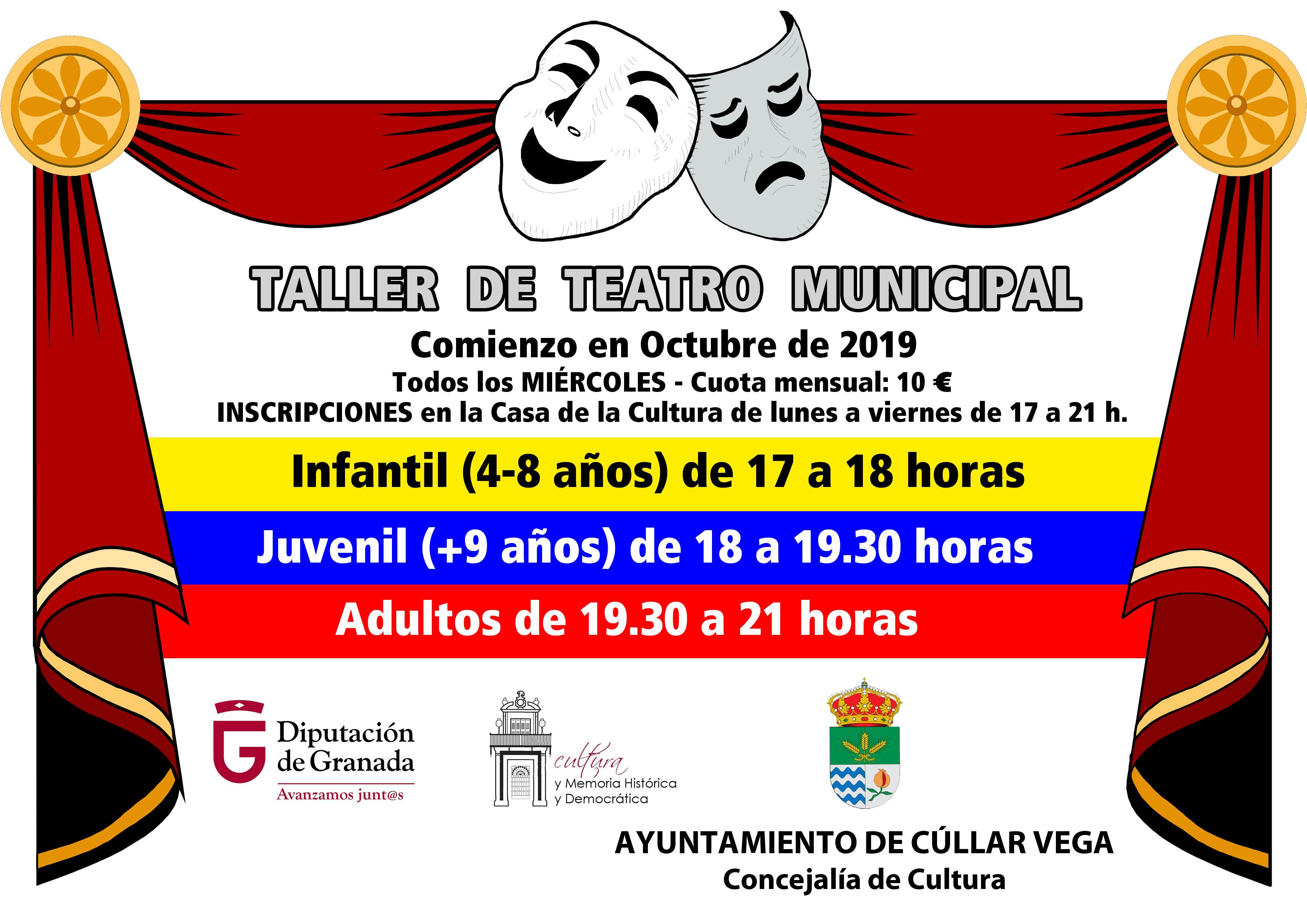 Taller de Teatro Municipal 2019-2020