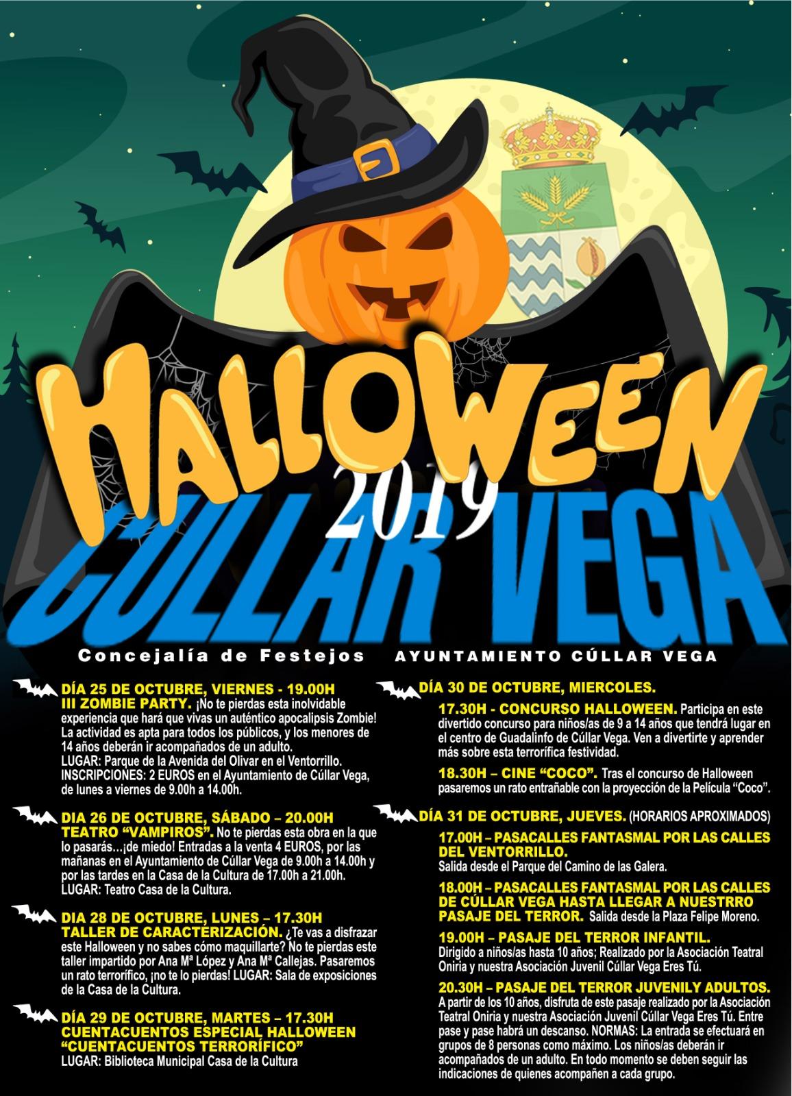 Halloween 2019 en Cúllar Vega