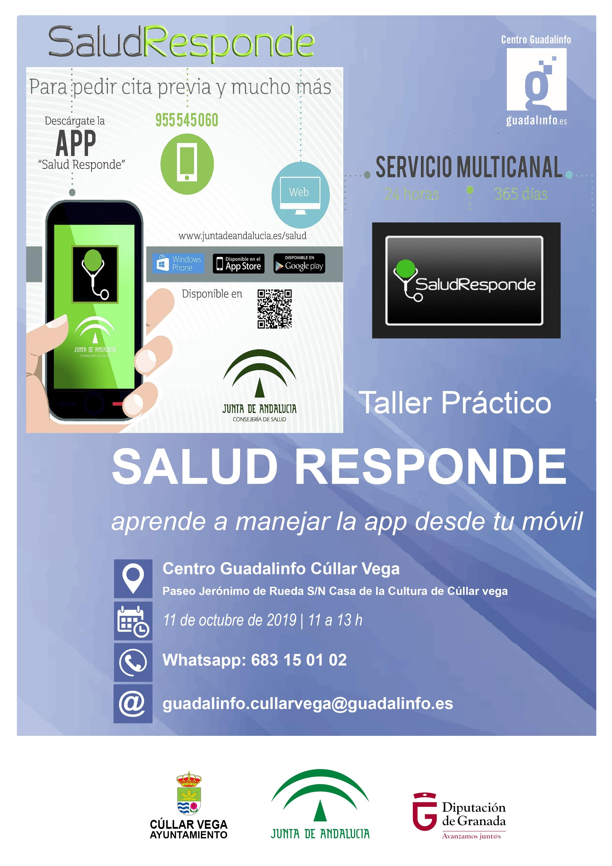 Taller sobre el manejo de la app SALUD RESPONDE