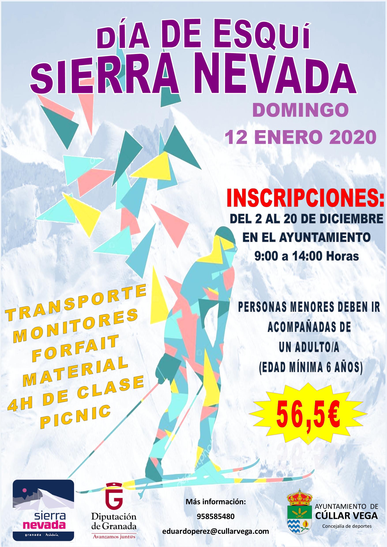 DÍA DE ESQUÍ EN SIERRA NEVADA - 12 DE ENERO