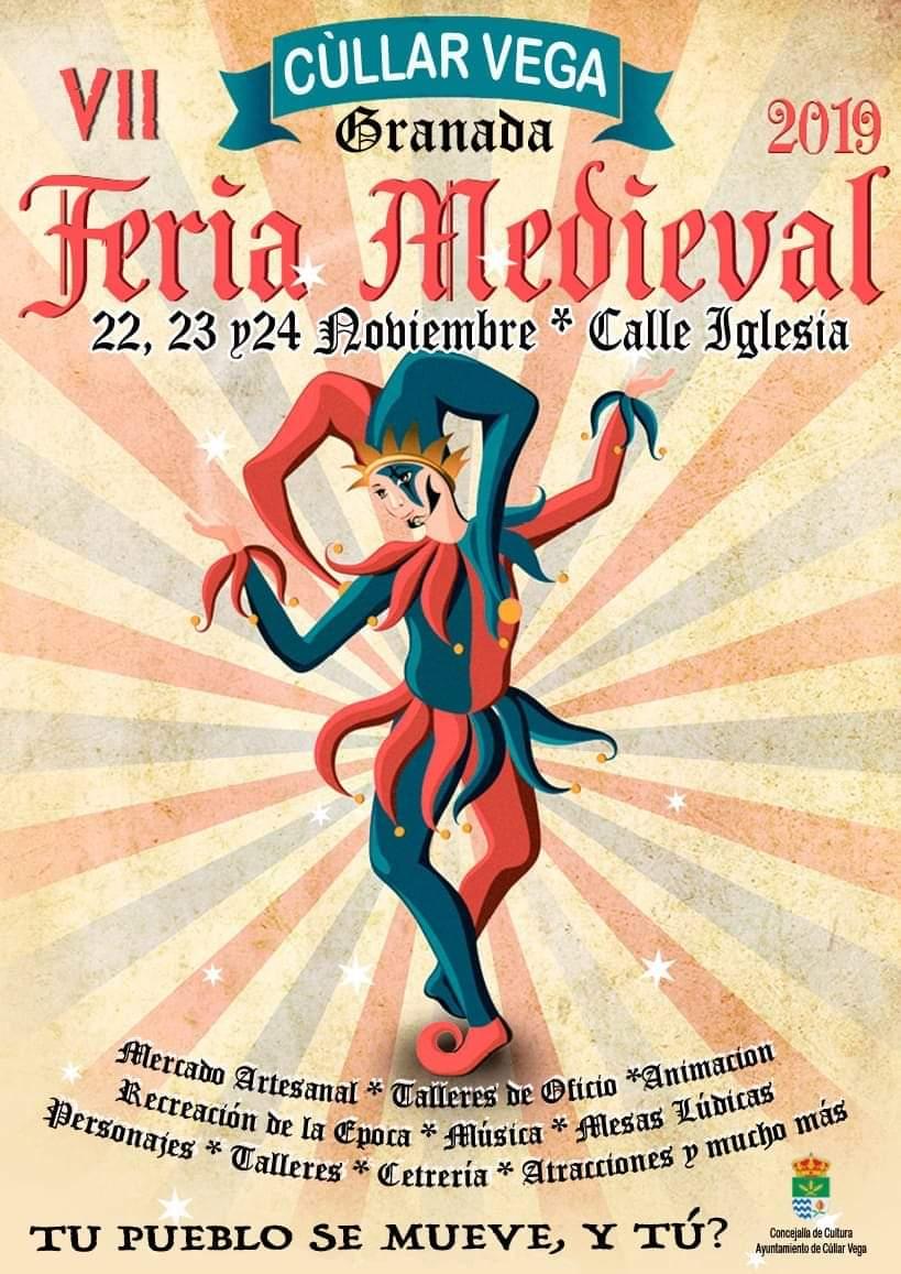 VII Feria Medieval de Cúllar Vega del 22 al 24 de Noviembre