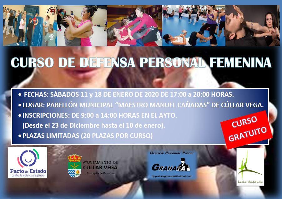 CURSOS DE DEFENSA PERSONAL FEMENINA