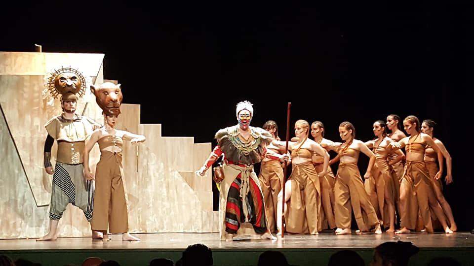 Jóvenes de Cúllar Vega llevarán a escena el musical 'El Rey León' este domingo