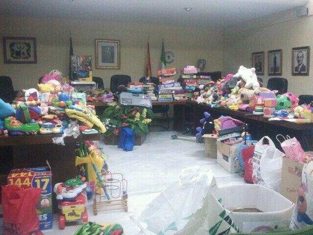 Cúllar Vega se moviliza con el objetivo de recaudar juguetes para los niños con menos recursos