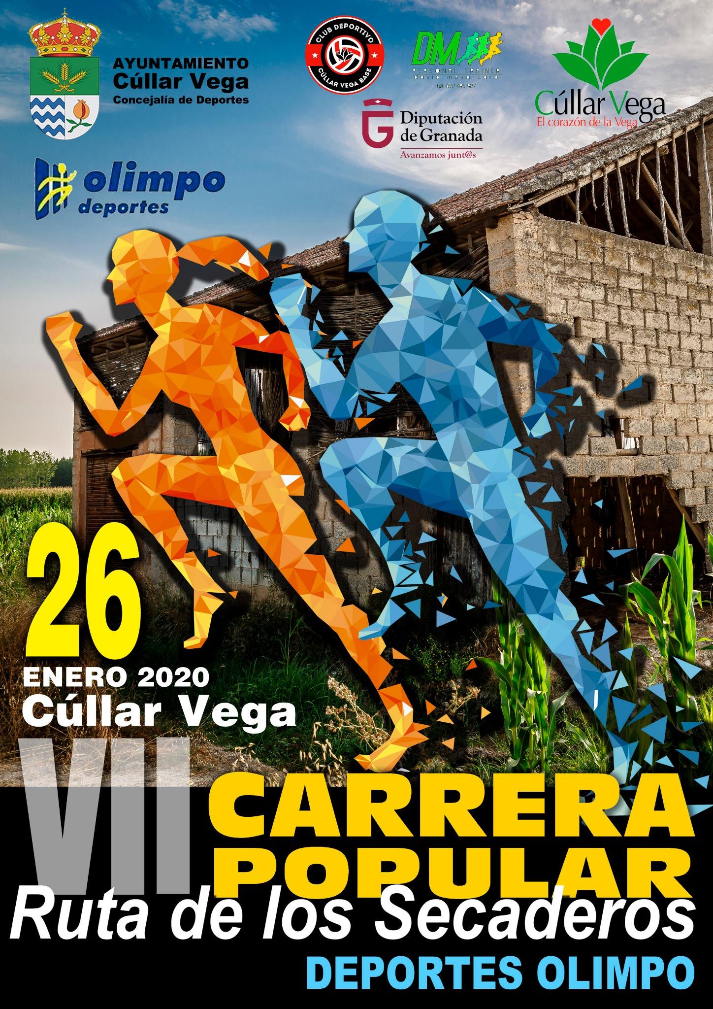 """VII Edición Carrera Popular """"RUTA DE LOS SECADEROS-DEPORTES OLIMPO"""""""