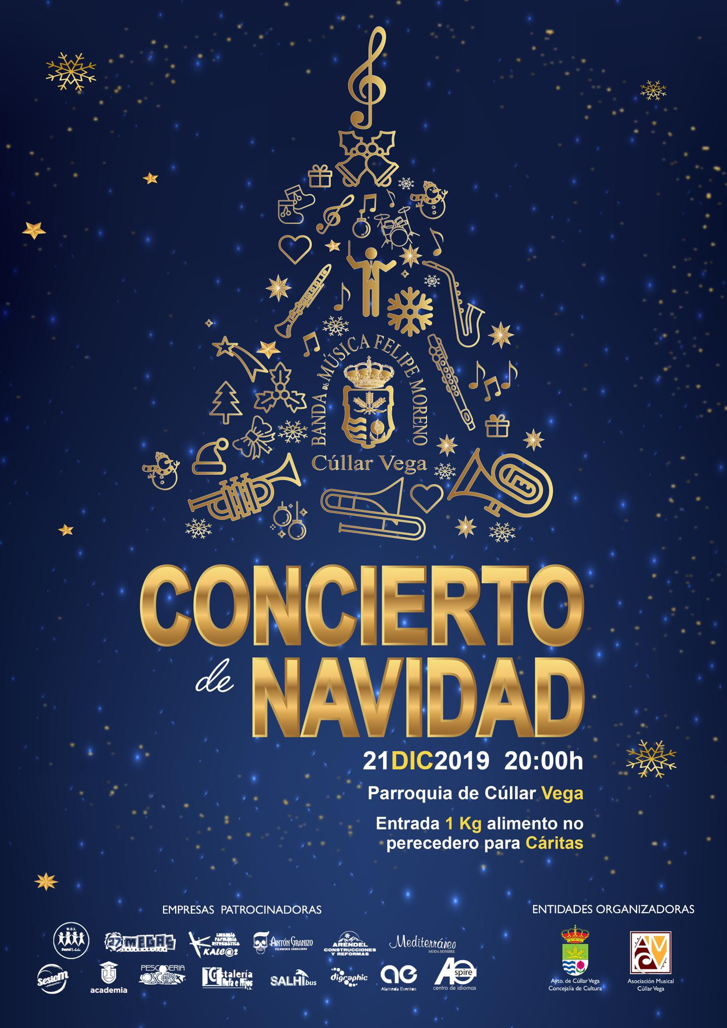 21 de Diciembre: Tradicional Concierto de Navidad