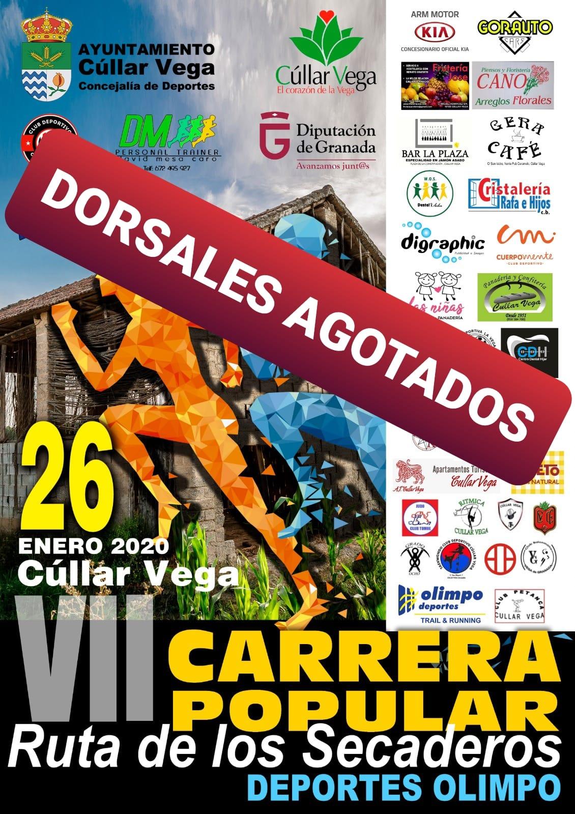 DORSALES AGOTADOS - RUTA DE LOS SECADEROS
