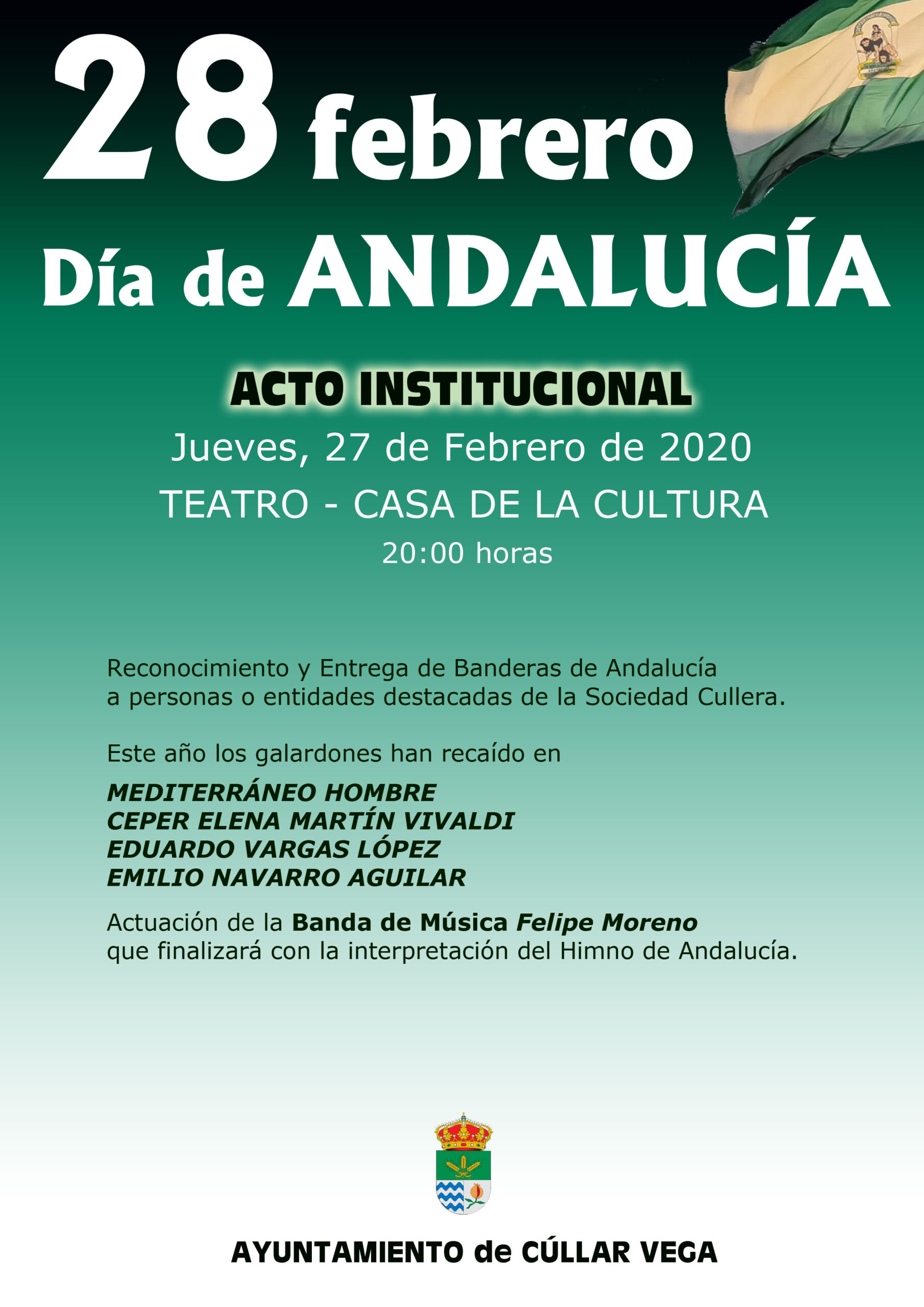 Actos Institucionales Día de Andalucía 2020