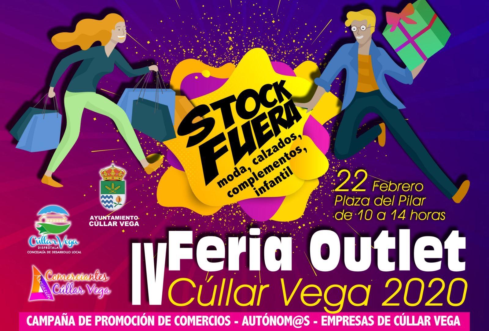 Cúllar Vega organiza una feria para liquidar el stock de su comercio