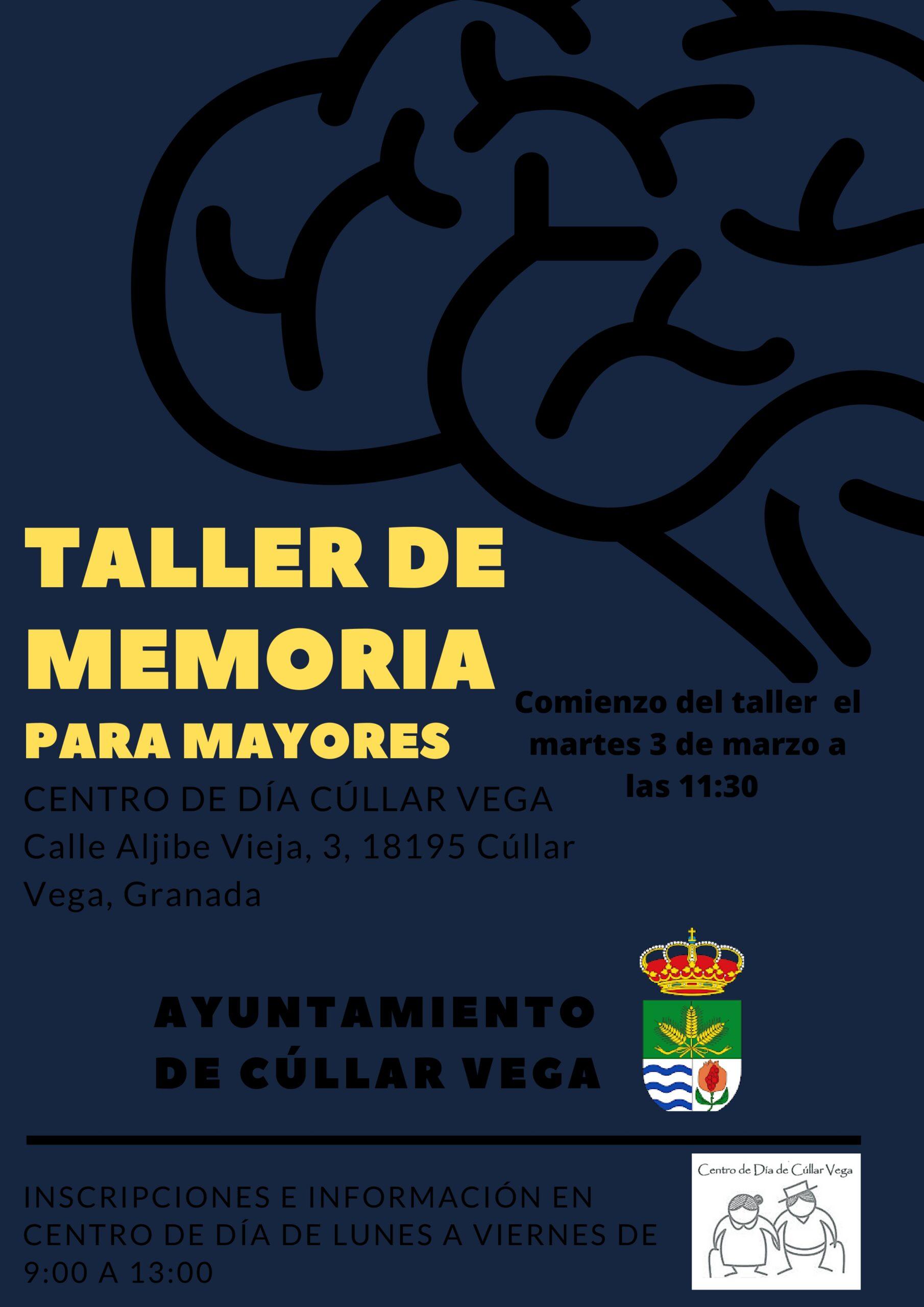 Taller de Memoria para Mayores