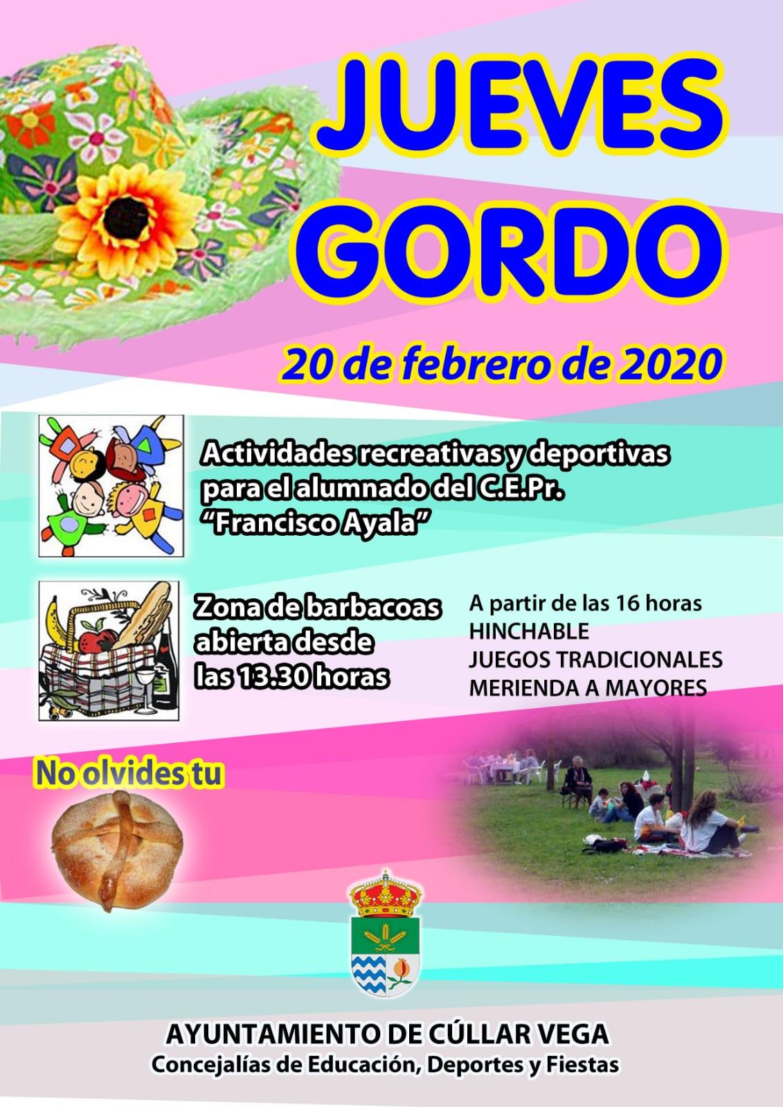 Jueves Gordo 2020