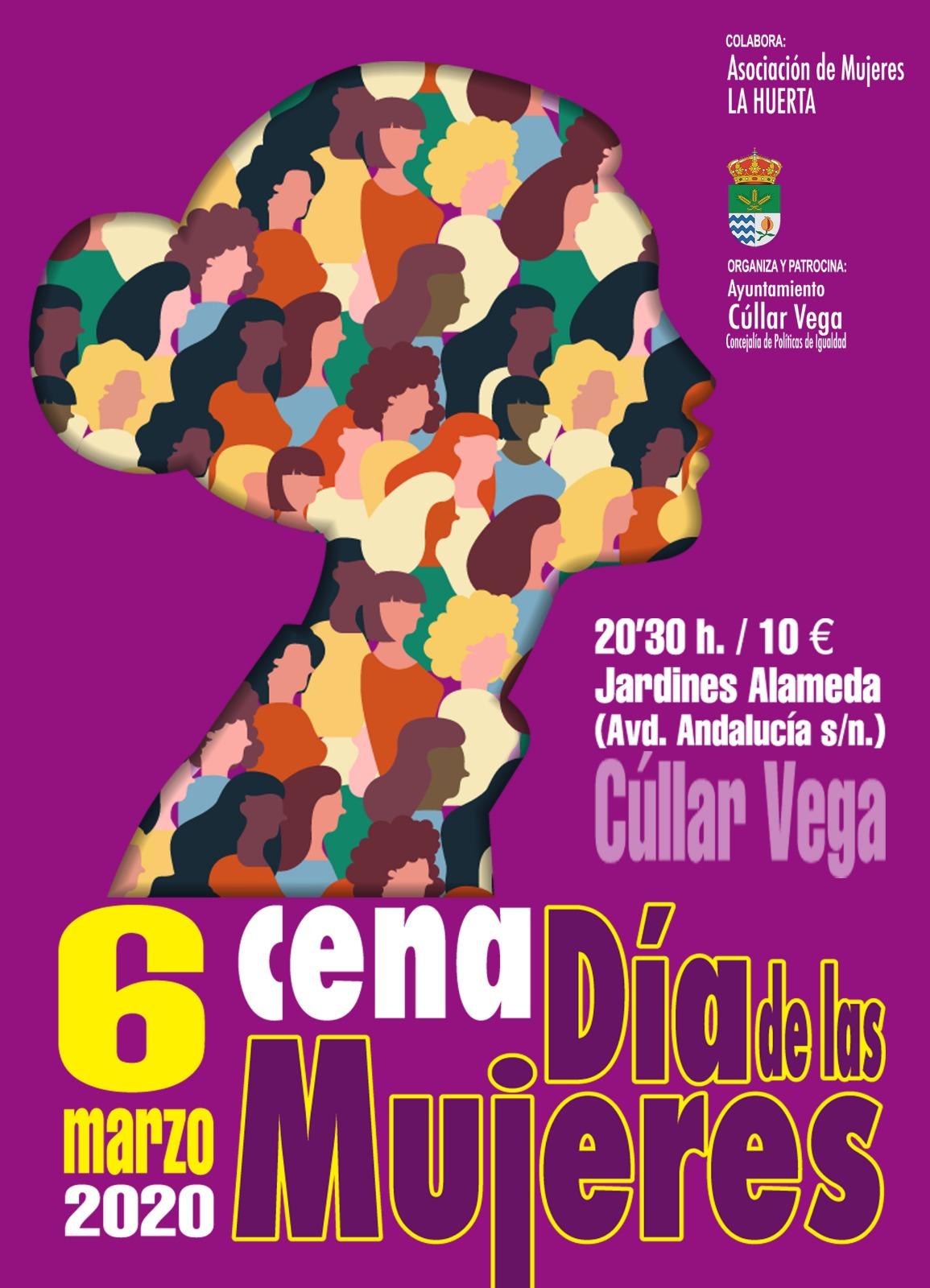 6 de marzo: Cena del Día de las Mujeres