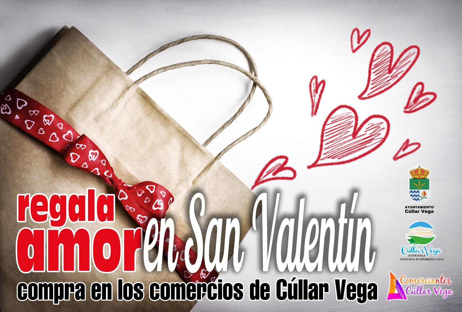 Regala amor en San Valentín -- Compra en los comercios de Cúllar Vega