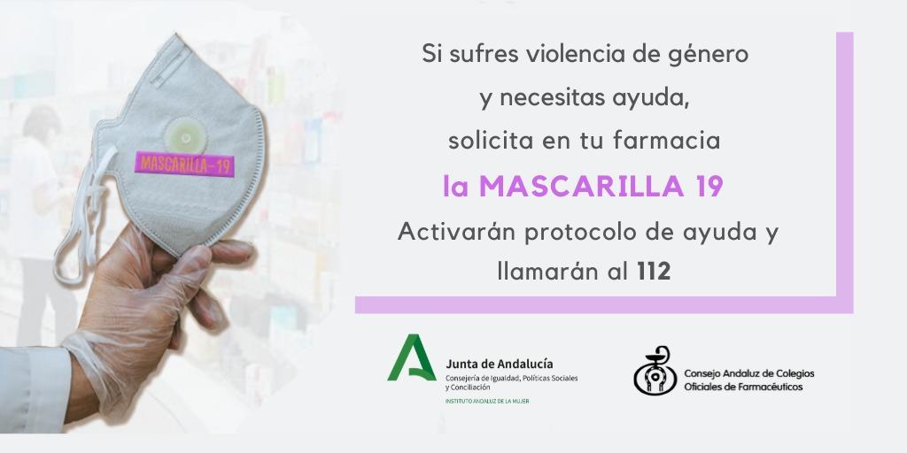 Las víctimas de violencia de género podrán solicitar ayuda en las más de 530 farmacias de Granada con la clave 'Mascarilla 19'