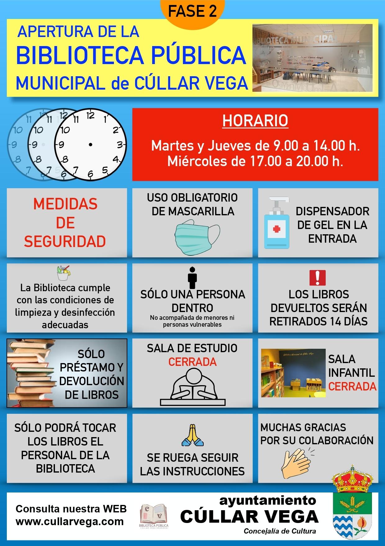 Apertura de la Biblioteca Municipal de Cúllar Vega