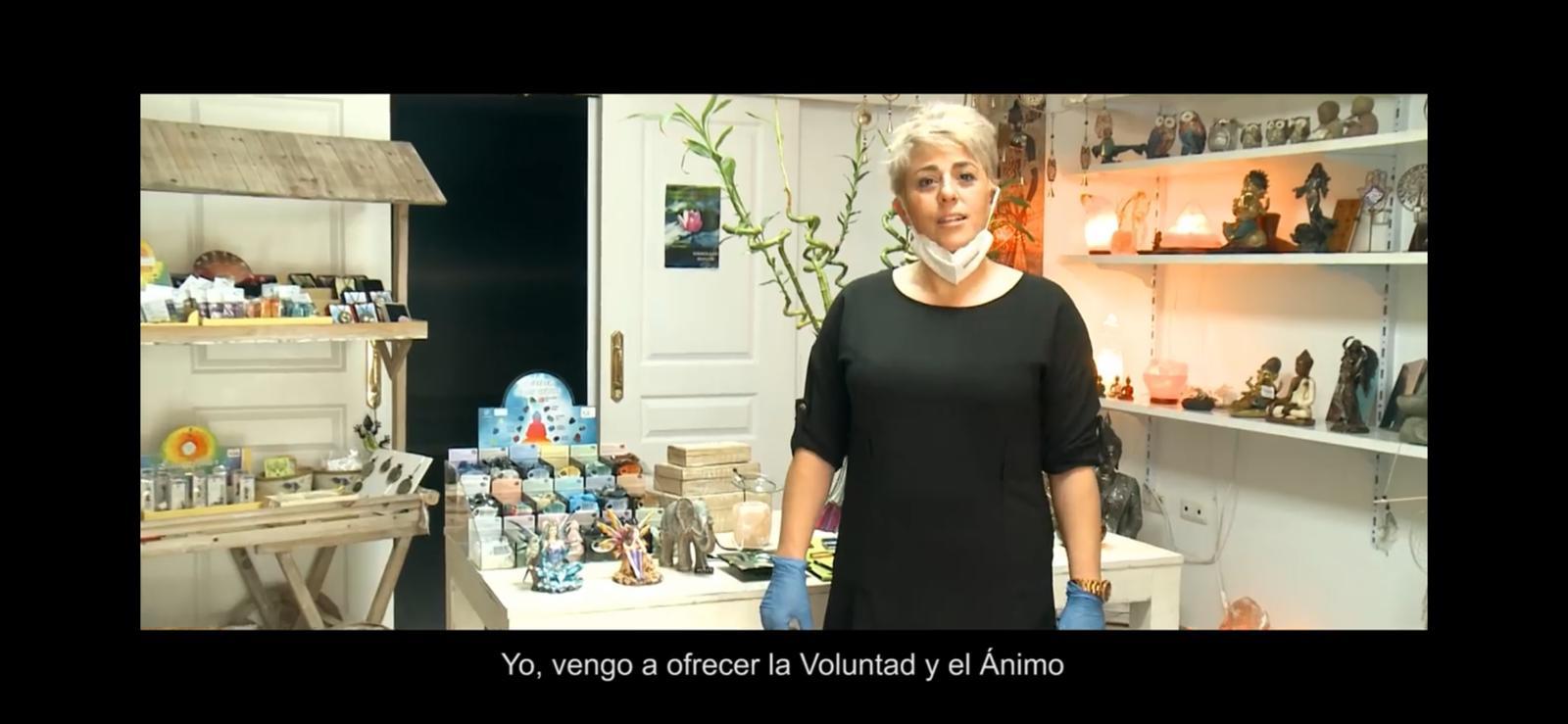 Cúllar Vega graba un vídeo para animar a los vecinos a comprar en el comercio local