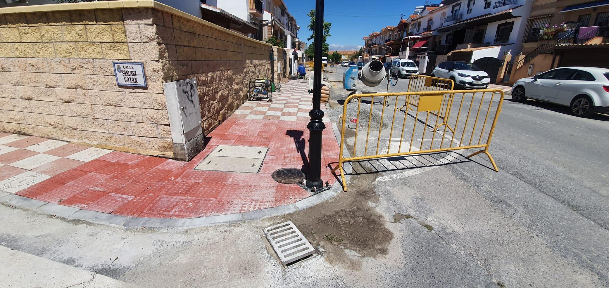 Cúllar Vega retoma las obras públicas tras el confinamiento y remodela el Camino de las Galeras