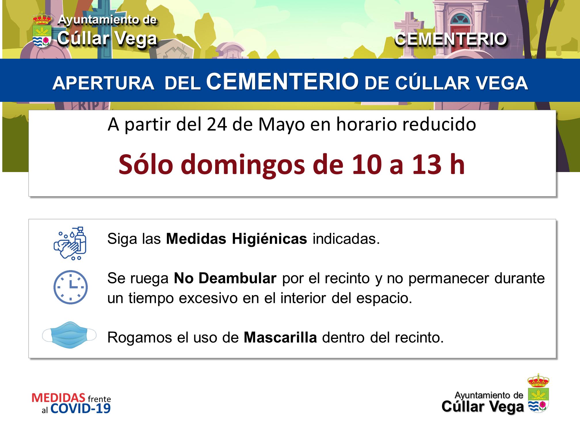 Apertura del Cementerio de Cúllar Vega