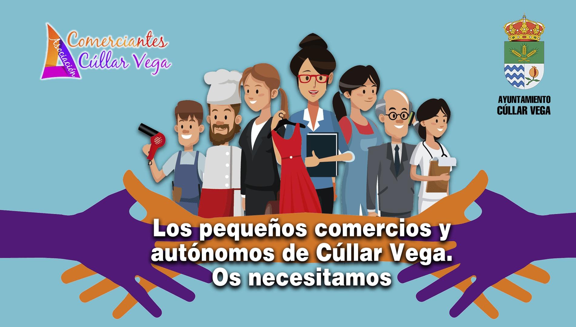 Los pequeños comercios y autónomos de Cúllar Vega ¡Os Necesitamos!