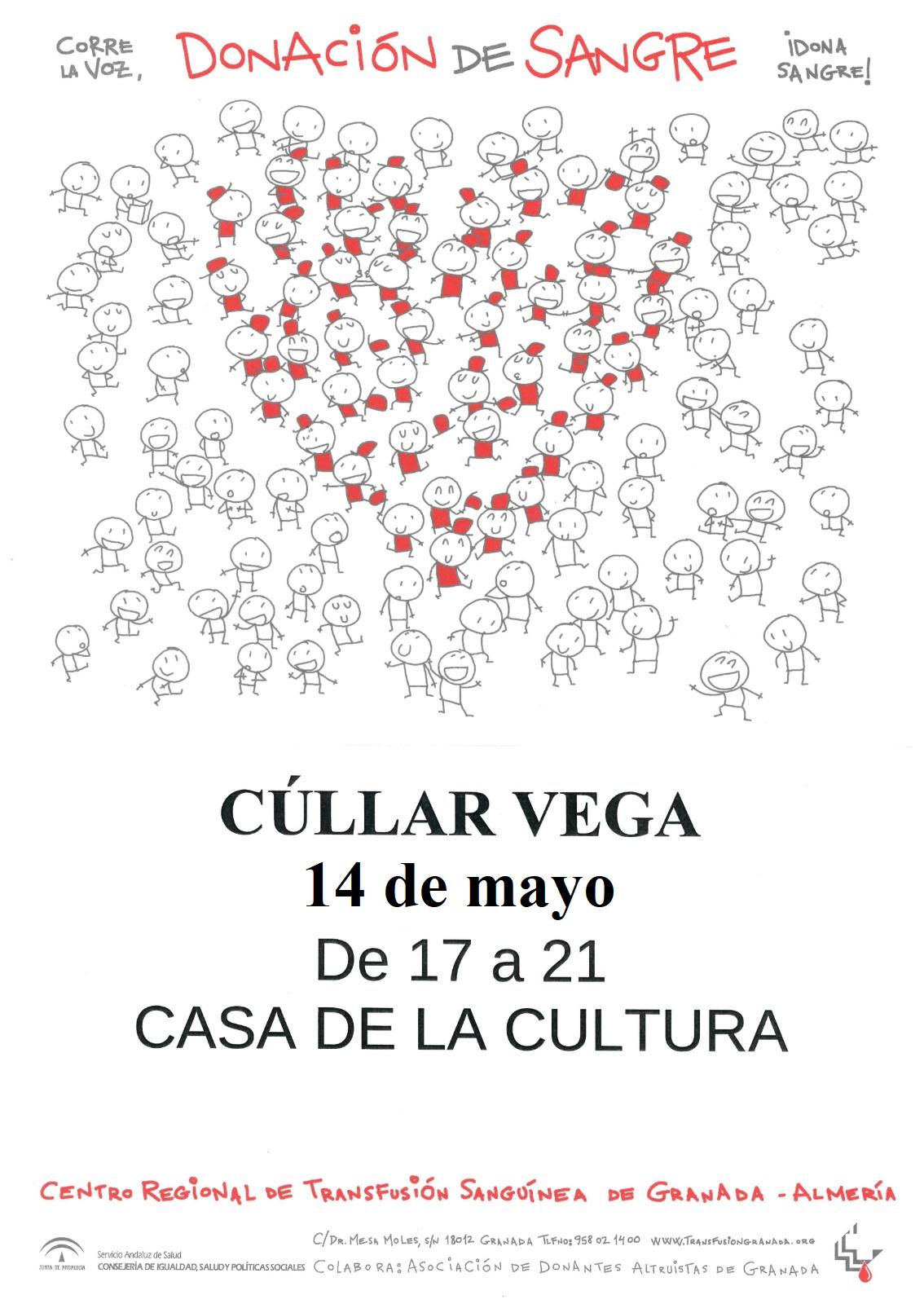 14 de Mayo: Donación de Sangre