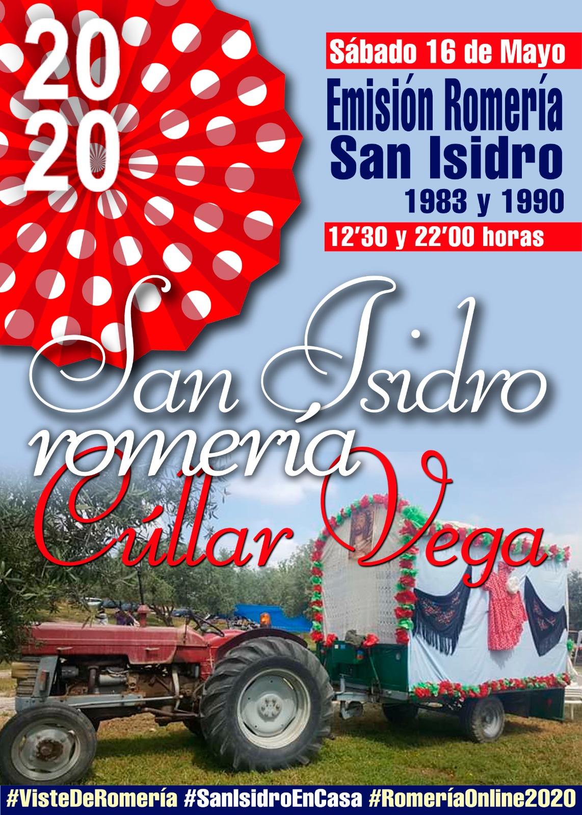 Romería San Isidro 2020 en Cúllar Vega