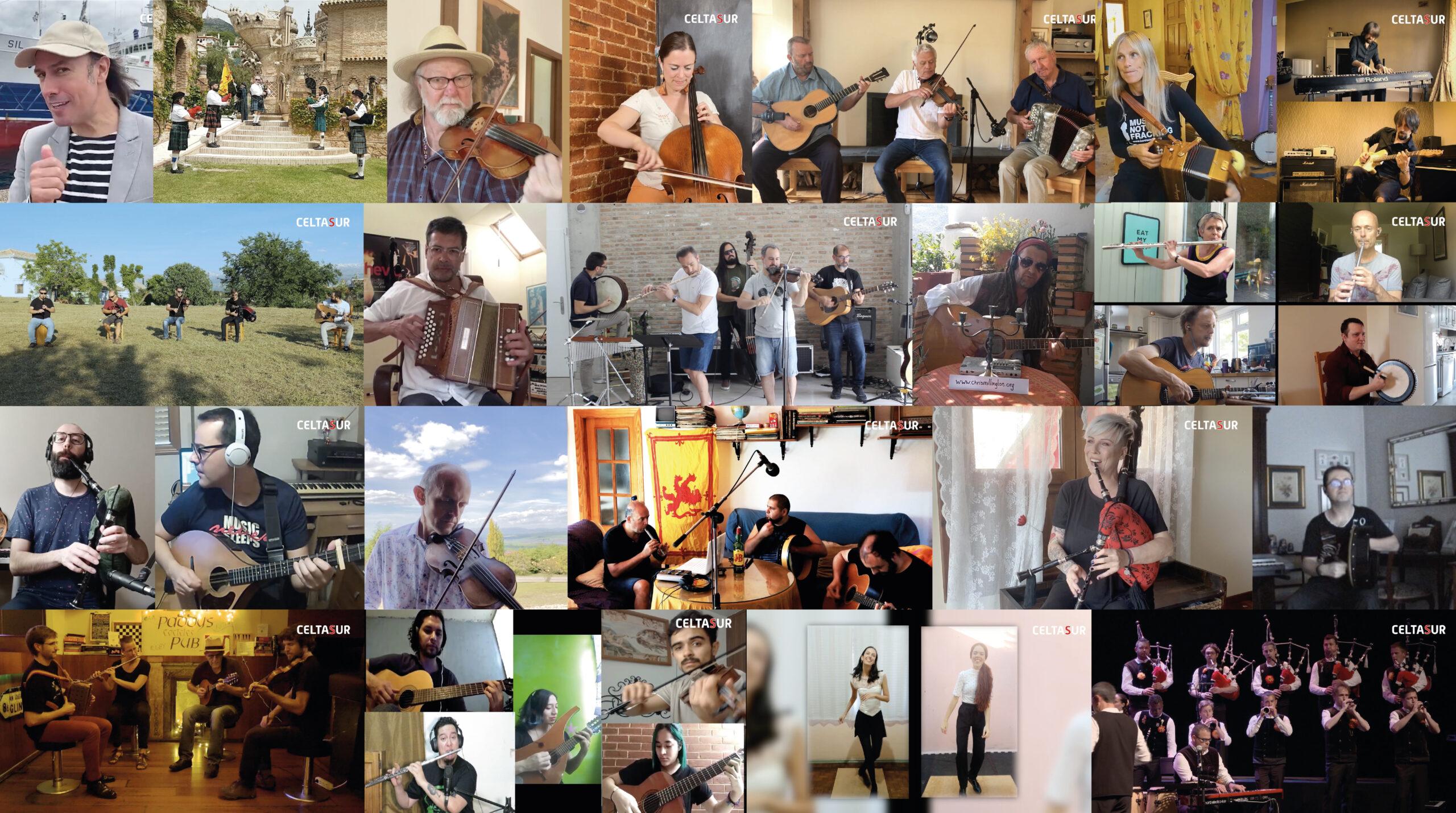 La exitosa edición virtual del Festival CELTASUR consigue atraer a más de 3.000 espectadores colocando a Cúllar Vega como un referente de la música celta internacional.