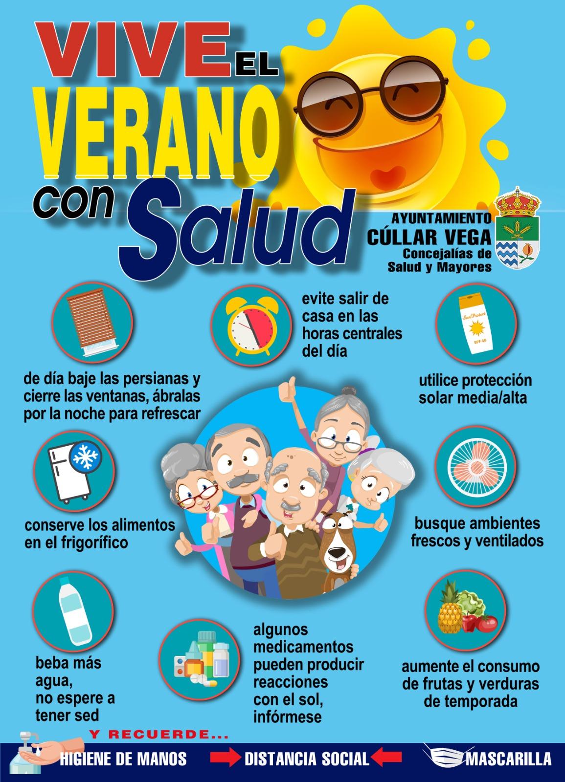 Vive el Verano con Salud en Cúllar Vega