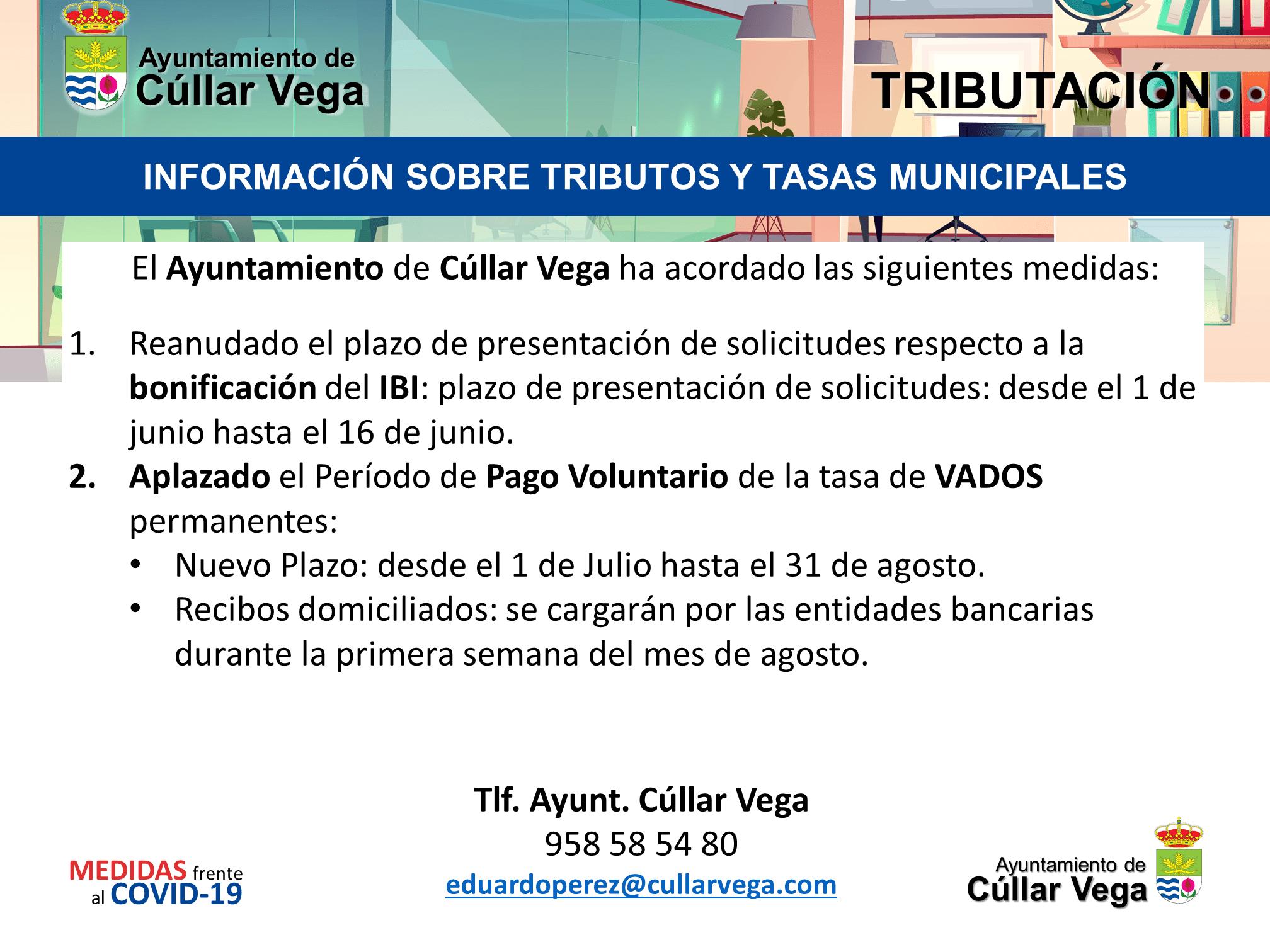 Información sobre Tributos y Tasa Municipales