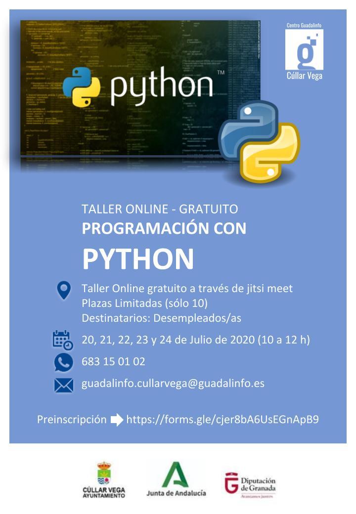 Taller para Desempleados/as de Programación con PYTHON