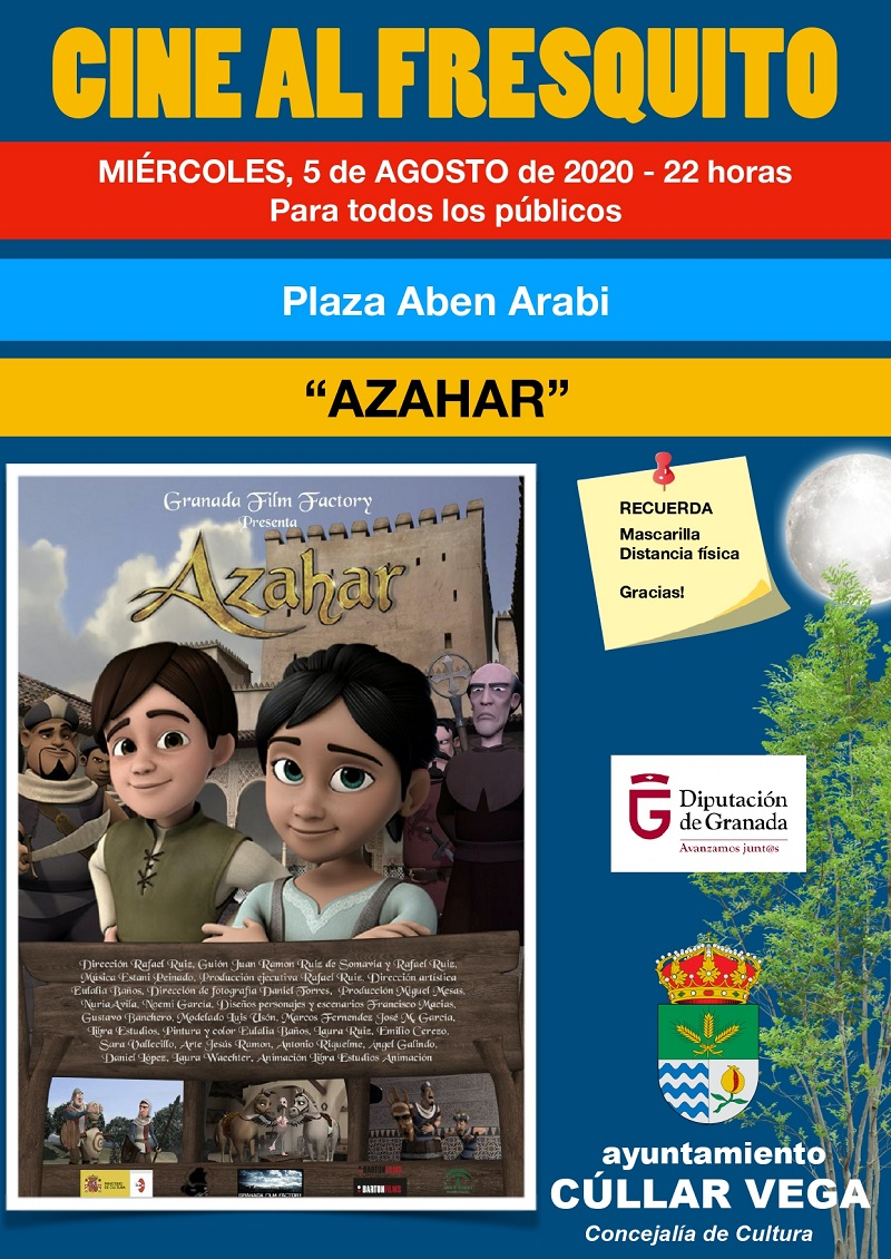 """Cine Al Fresquito """"Azahar"""""""