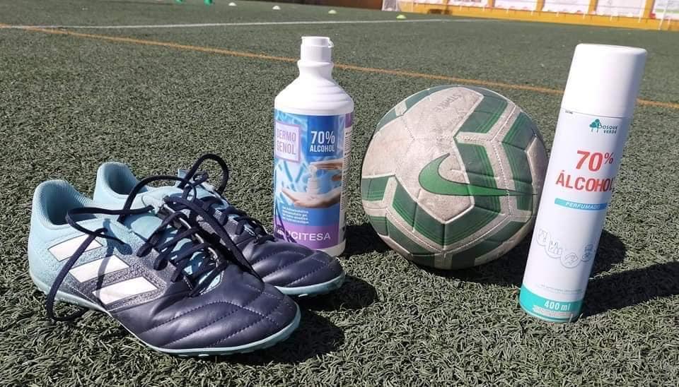 Cúllar Vega mantiene su campus infantil de fútbol, que reduce sus plazas a la mitad