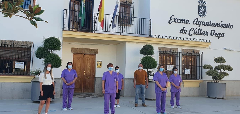 """Cúllar Vega retoma su programa """"T-Ayudo"""", para ayudar a personas dependientes, tras el parón por el coronavirus"""