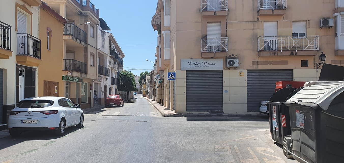 Cúllar Vega inicia las obras de reforma de la calle Miguel Hernández, que será totalmente accesible