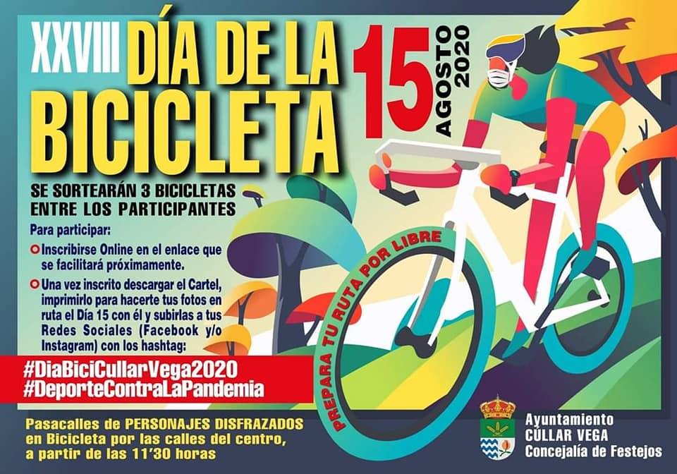 El Día de la Bicicleta de Cúllar Vega se reinventa por el coronavirus y cumple 28 años