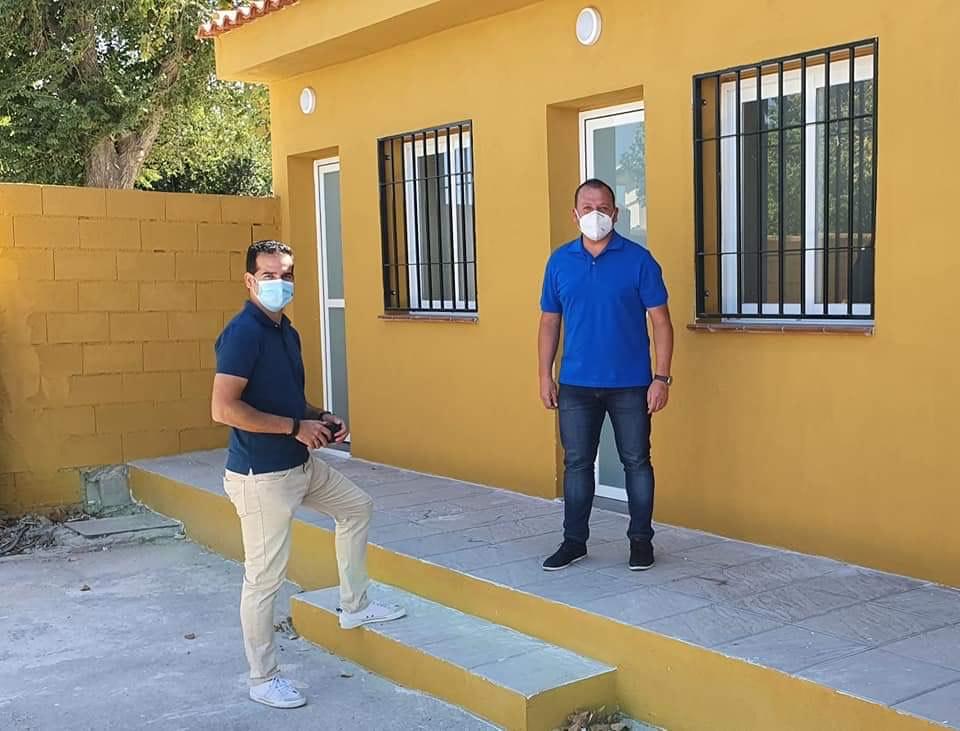 Cúllar Vega mejora sus instalaciones deportivas, que dispondrán de una conserjería y más espacio para los clubes