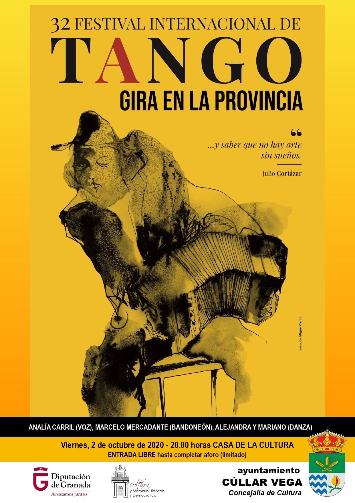 Extensión del 32 Festival Internacional de Tango en Cúllar Vega