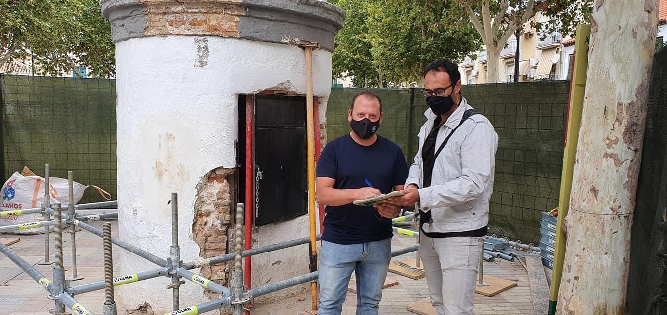 Cúllar Vega inicia la restauración de un aljibe del siglo XVI ubicado en la Plaza de la Constitución