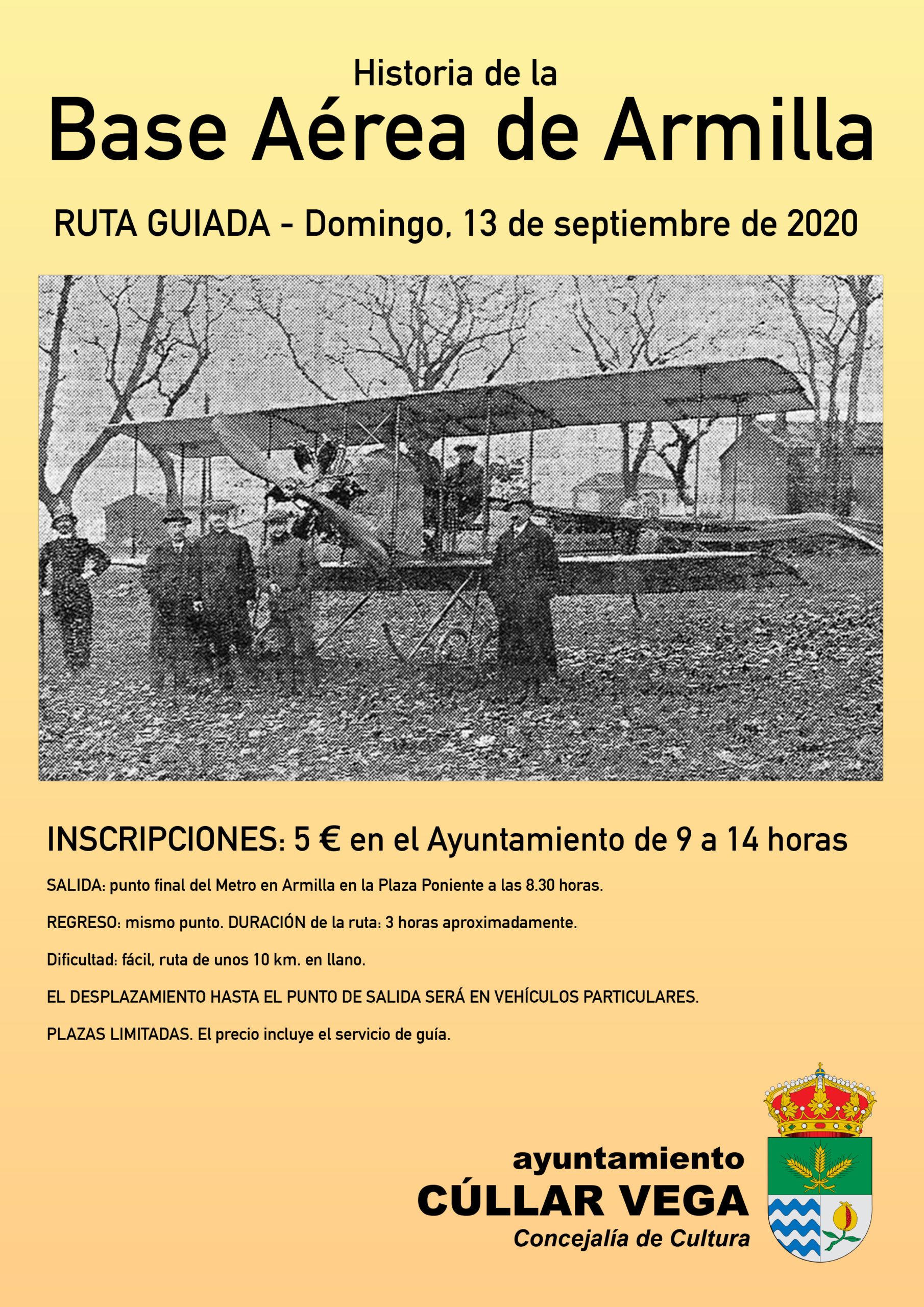 "Ruta de senderismo ""Historia de la Base Aérea de Armilla"""